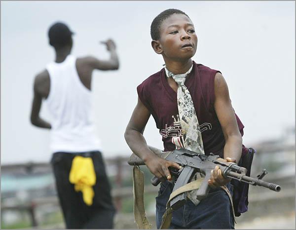 Konflikty zbrojne w Liberii i Sierra Leone